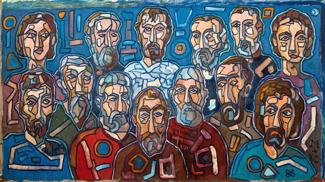 Юрий Маркин. «Учитель и ученики» (1982-86)