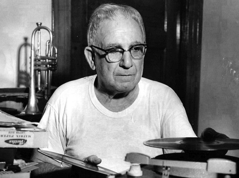 Nick LaRocca (1891-1961). Фотография 1950-х гг.