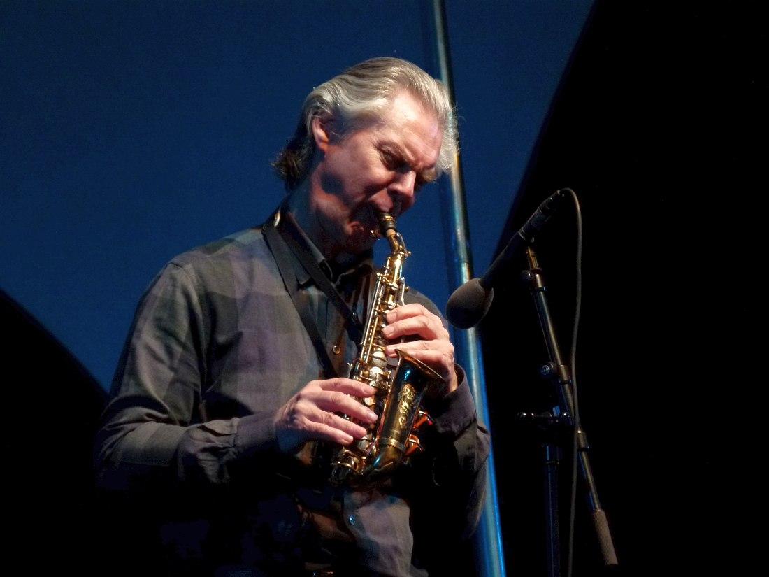 Ян Гарбарек на фестивале Jazzkaar, Таллин, Эстония, 2012 (фото © Кирилл Мошков)