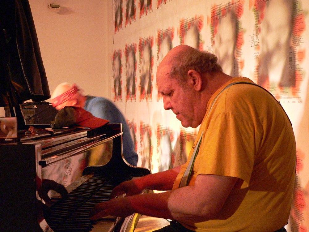 Миша Менгельберг (Москва, 2005, фото © Кирилл Мошков, «Джаз.Ру»)