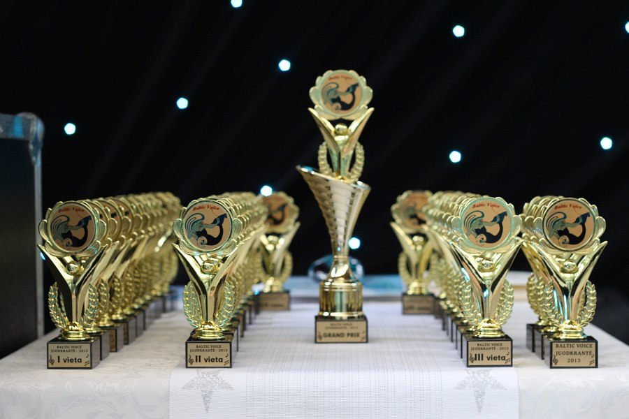 Призы, которые получают лауреаты конкурса