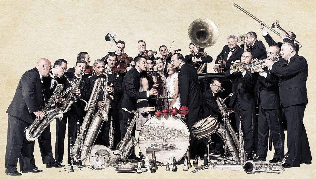 Картинки джазовый оркестр