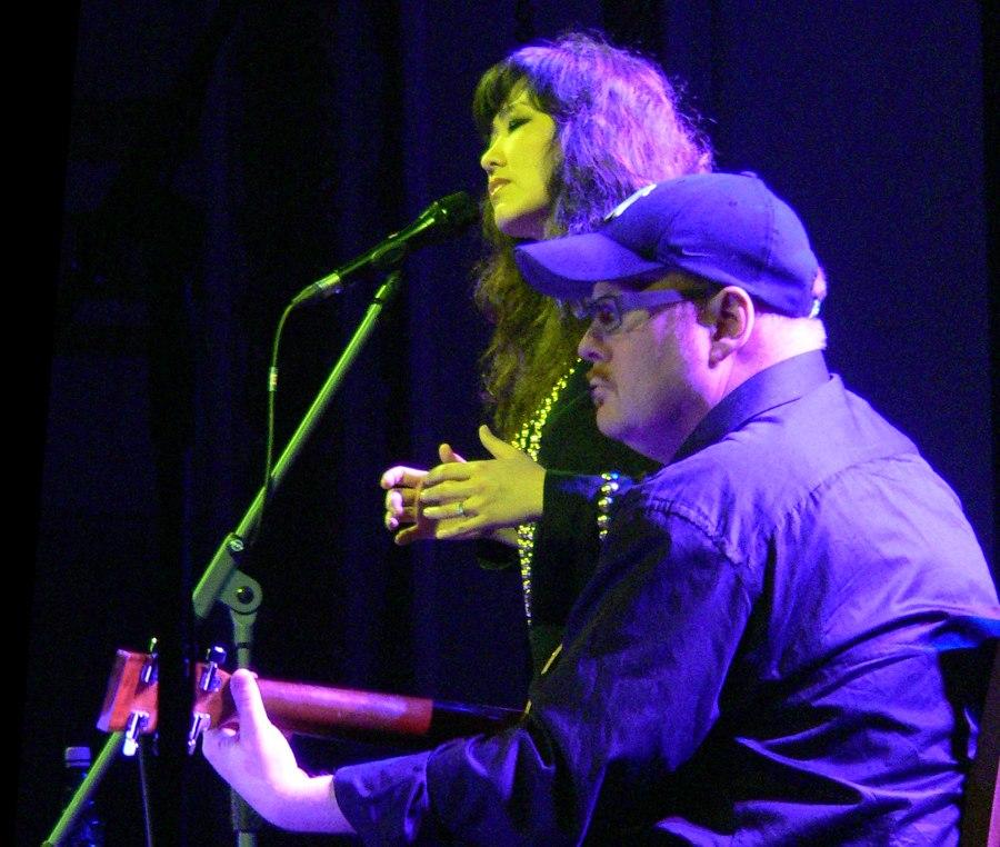 Youn Sun Nah, Ulf Wakenius (фестиваль Jazzkaar, Таллин, Эстония, 2010; фото © Кирилл Мошков, «Джаз.Ру»)