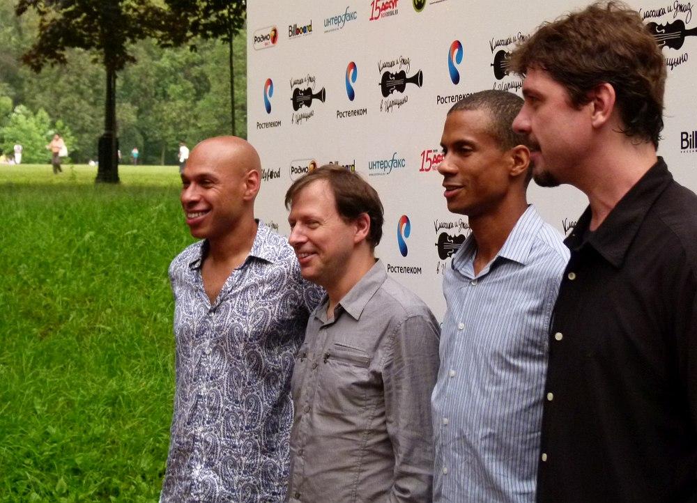 Редман, Поттер, Тёрнер, Чик: парк Царицыно, Москва, 2012 (фото © Кирилл Мошков, «Джаз.Ру»)