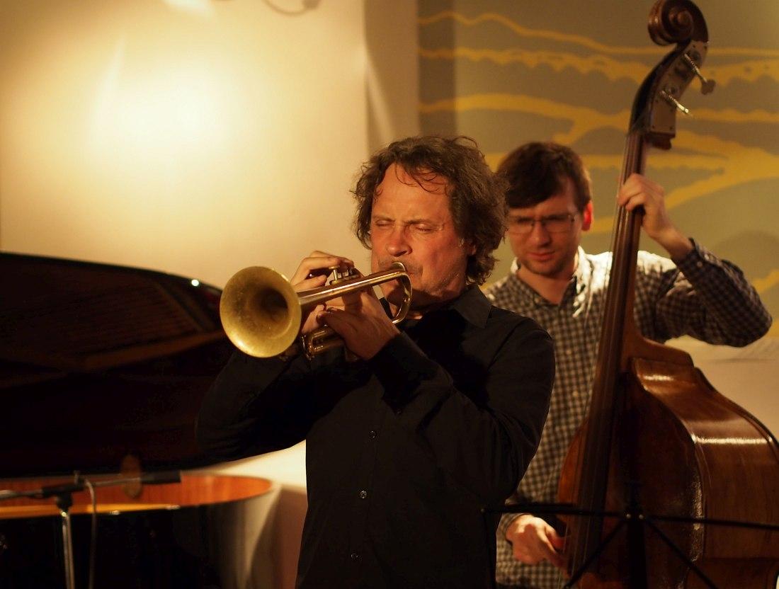Алекс Сипягин в Ярославском джазовом центре, 2015 (фото © Кирилл Мошков, «Джаз.Ру»)