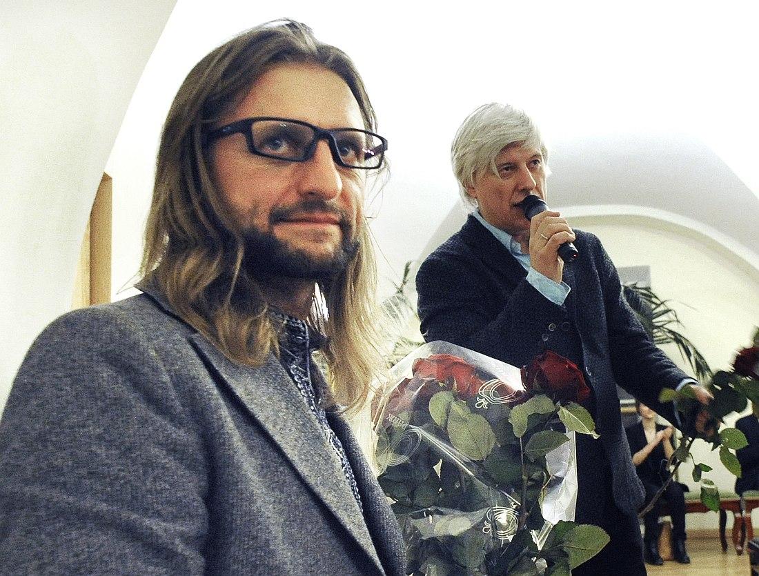 Лешек Можджер и Андрей Кондаков
