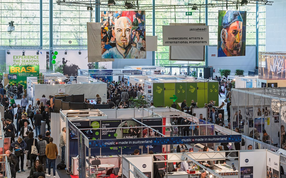 Основной выставочный павильон Jazzahead! (photo © Jan Rathke / Messe Bremen)