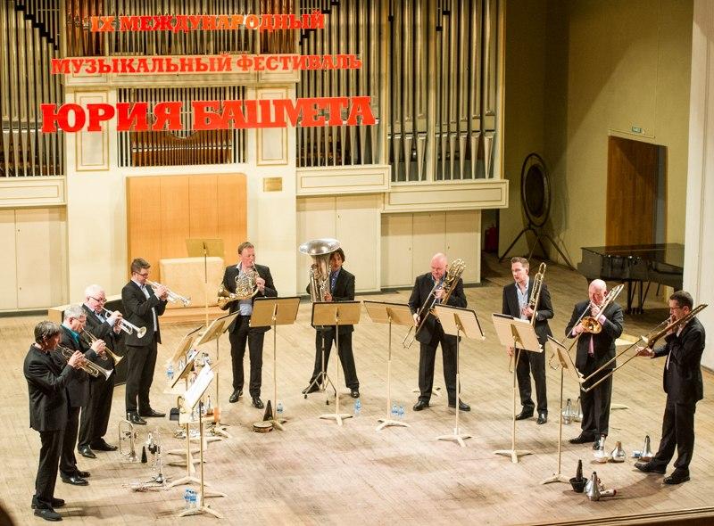 London Brass на сцене Ярославской филармонии