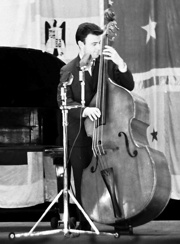 Владимир Чернов на фестивале «Джаз-65». Фото из коллекции Валерия Котельникова