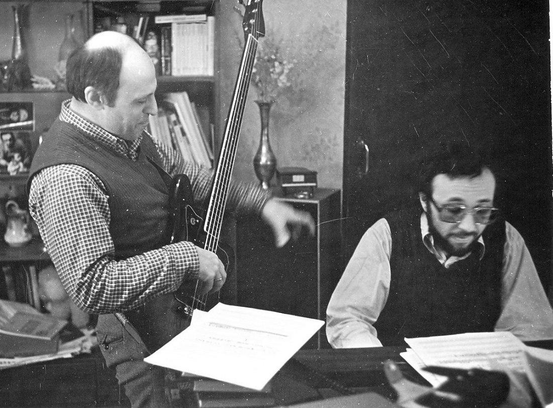 Владимир Чернов, Виктор Фридман (фото из личного архива В. Фридмана)