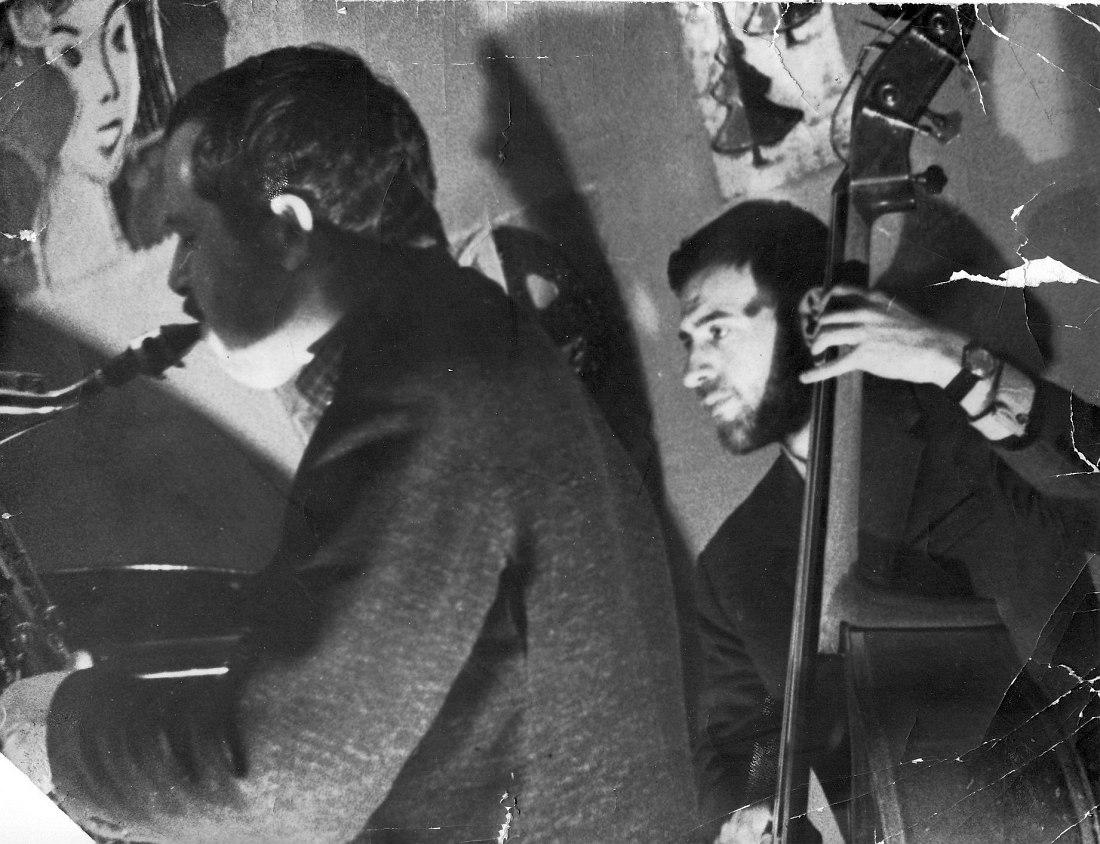 Эдуарт Утешев, Владимир Чернов (фото из личного архива В. Фридмана)