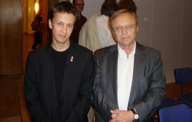 Диас Каримов и Леонид Чижик, 2011