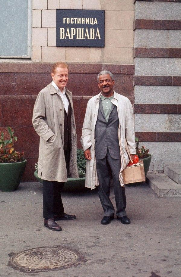 Лето 1962, СССР. Джон Банч и Тедди Уилсон.