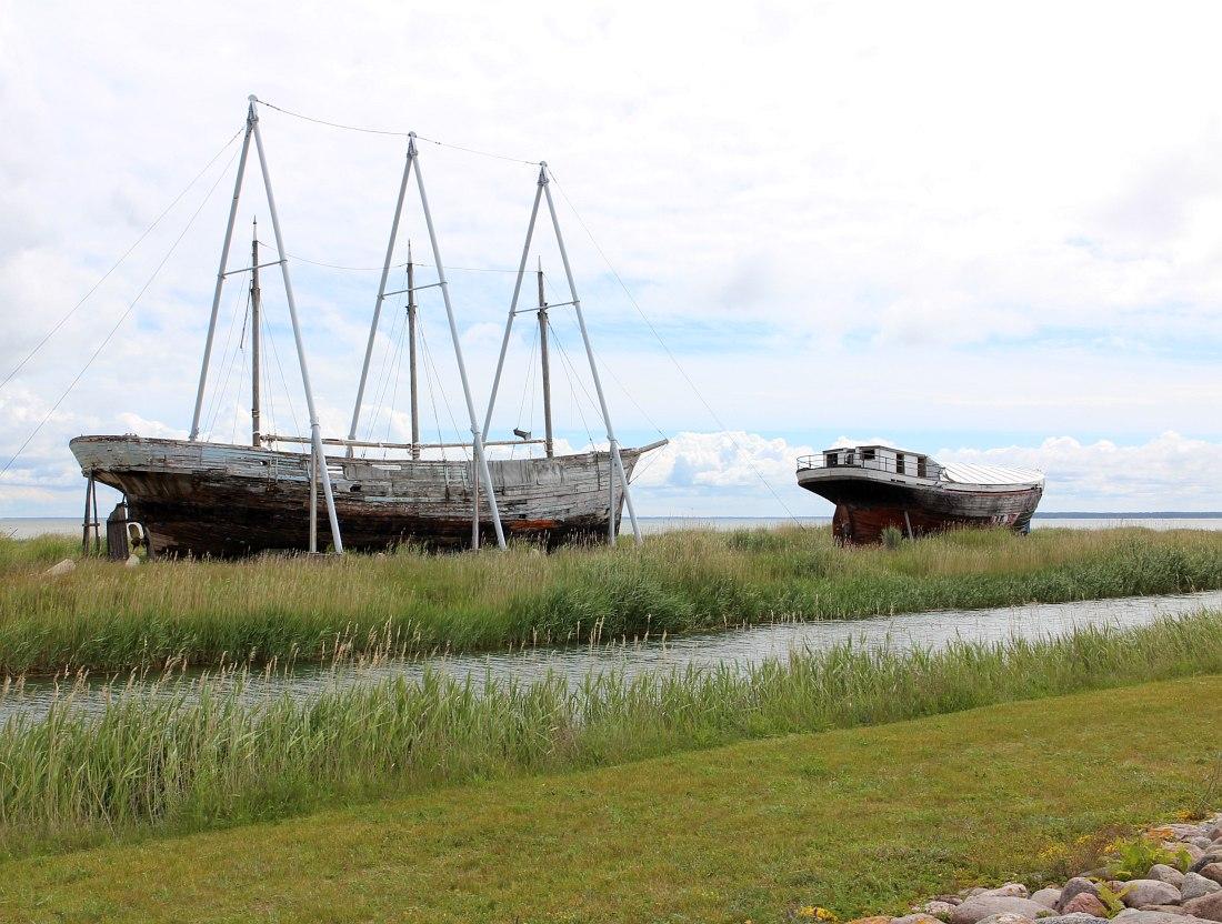 Окрестности порта Сыру на о-ве Хийумаа