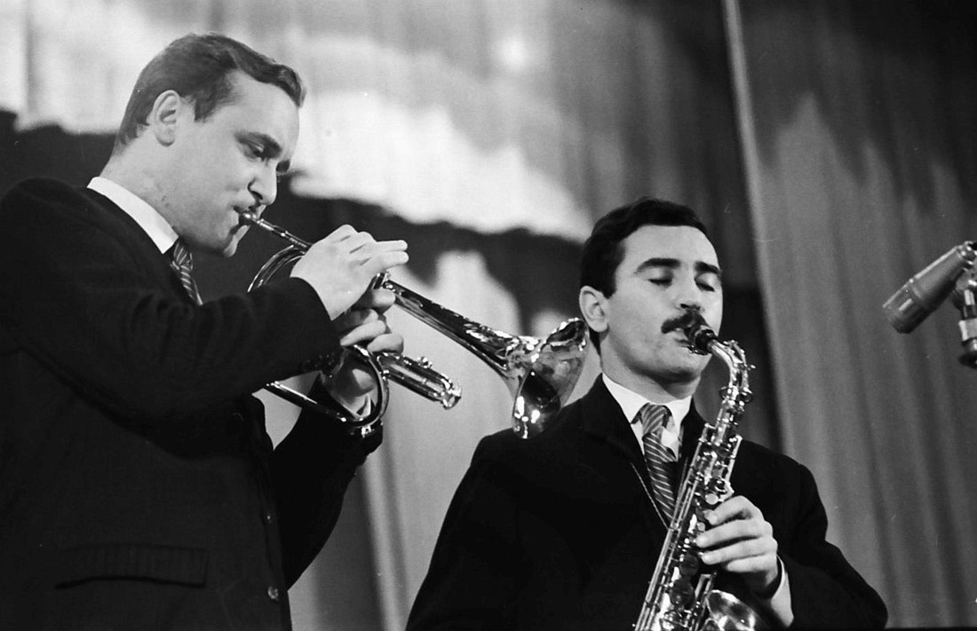 Константин Носов и Геннадий Гольштейн, 1967