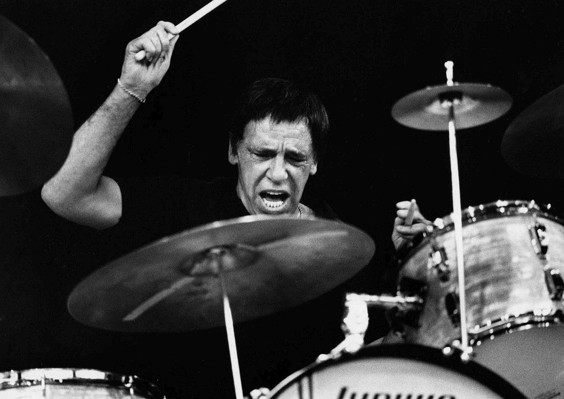 Buddy Rich (photo © Chuck Fishman)