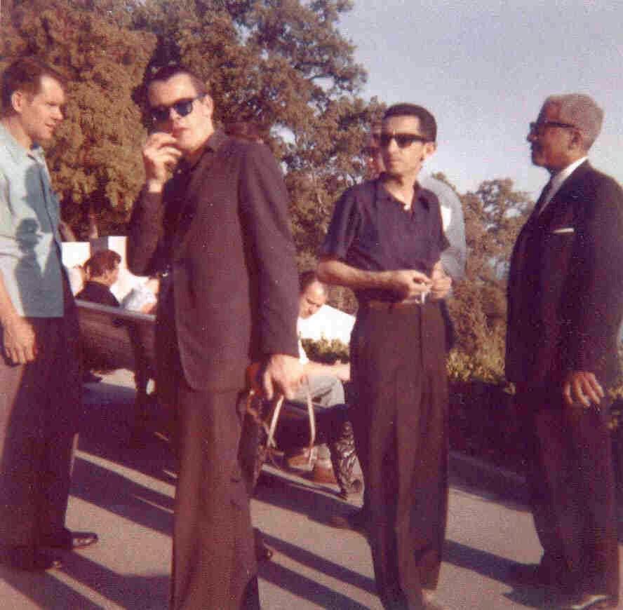 Сочи, лето 1962. В центре Билл Кроу и Тёрк Ван Лэйк (фото из личного архива Билла Кроу)