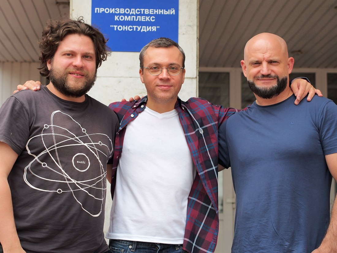 Пётр Ившин, Дмитрий Илугдин, Виктор Шестак (фото © Кирилл Мошков, «Джаз.Ру»)
