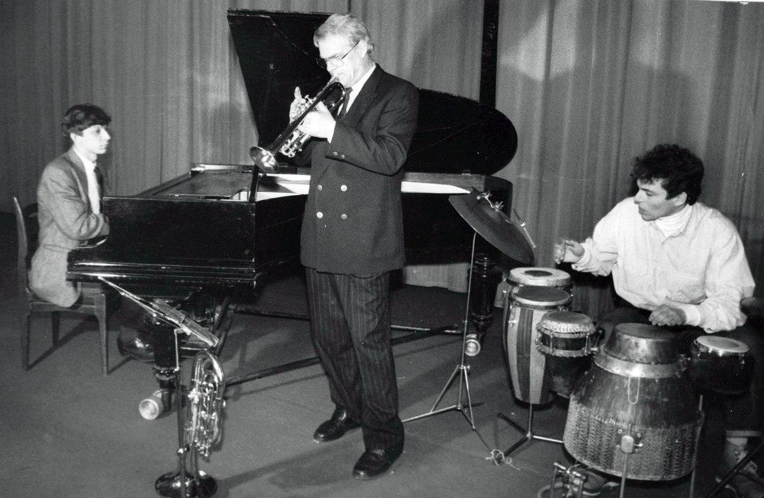 1993, трио Германа Лукьянова: Яков Окунь, Герман Лукьянов, Дмитрий Севастьянов