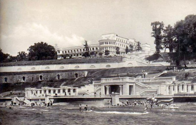 Гостиница «Приморская», 1950-е гг.