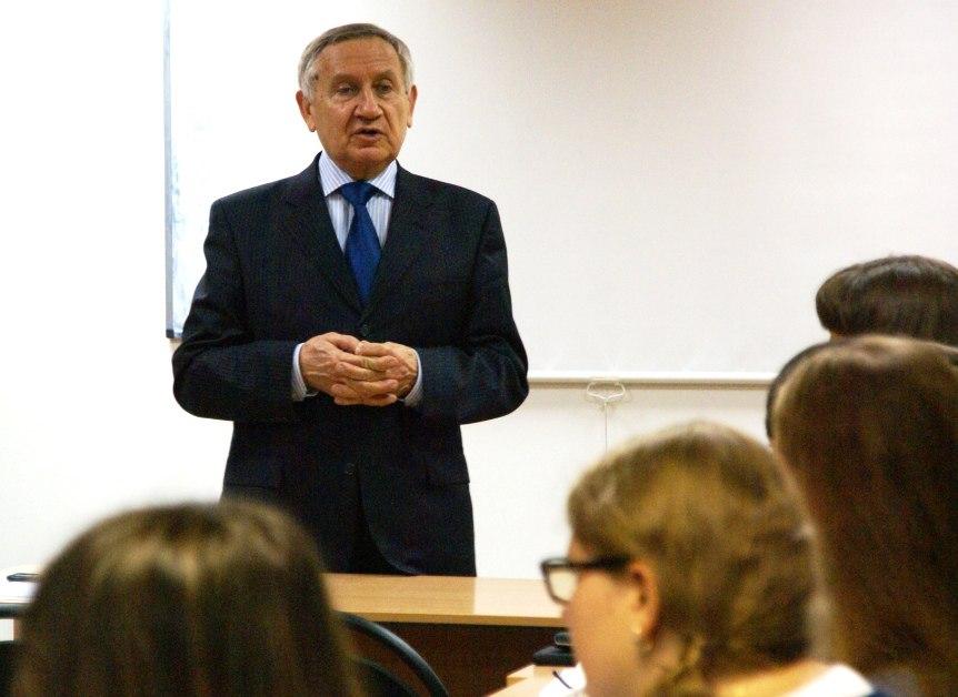 Профессор Виттих и студенты