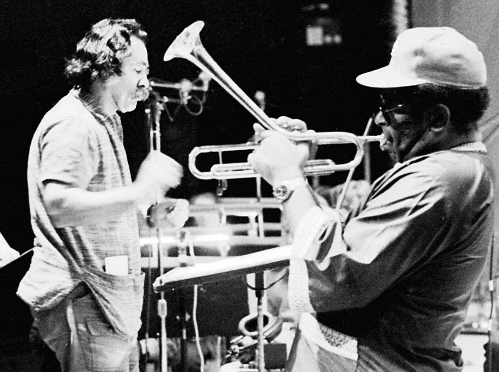 Manny Albam, Dizzy Gillespie (photo © Eastman School of Music)