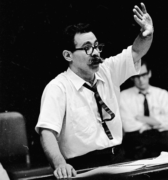 Manny Albam (photo © Eastman School of Music)