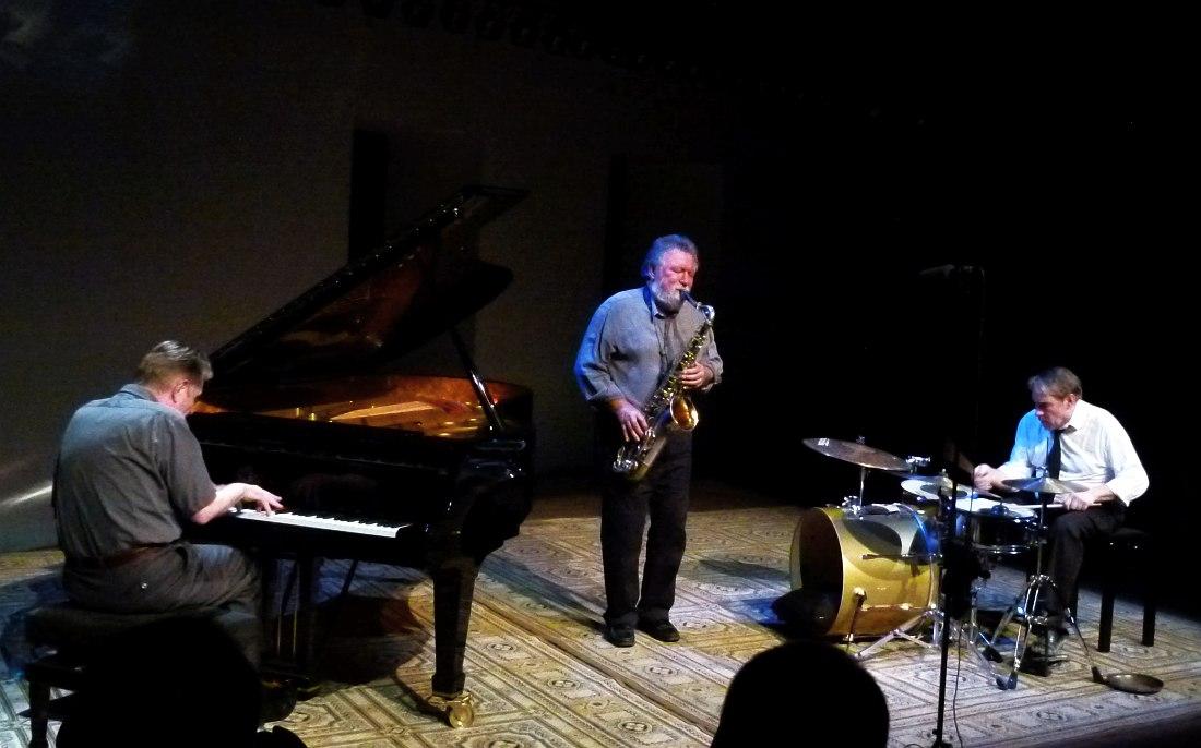 Schlippenbach Trio, Москва, 2010 (фото © Кирилл Мошков, «Джаз.Ру»)