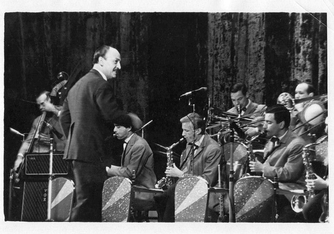 Эдди Рознер и его оркестр (фото 1967 г.)