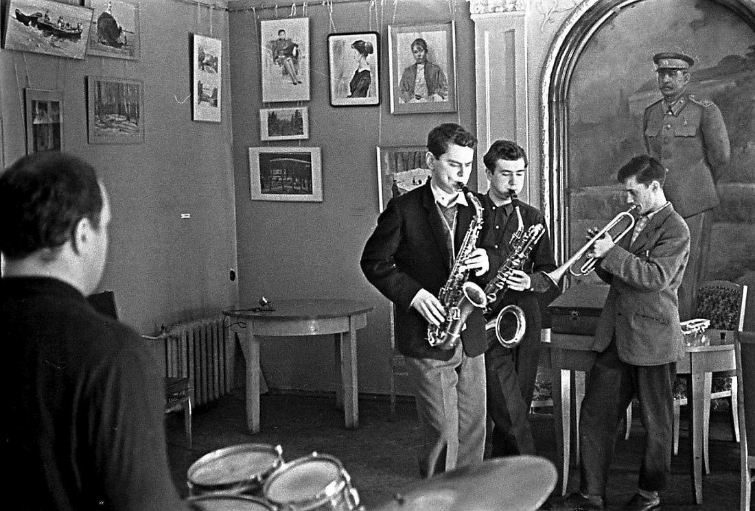 Советская джазовая самодеятельность, конец 1950-х гг.
