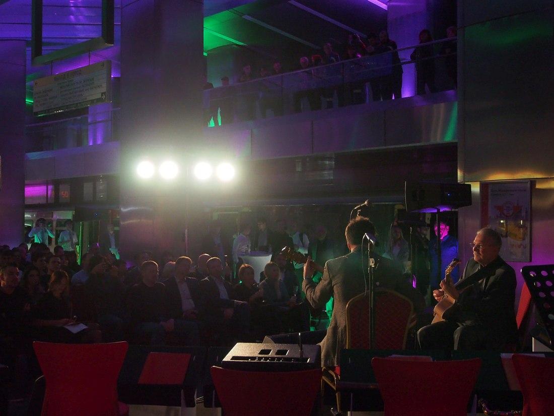Алексей Кузнецов и Максим Шибин открывают программу концерта «Ночь джаза в метро»