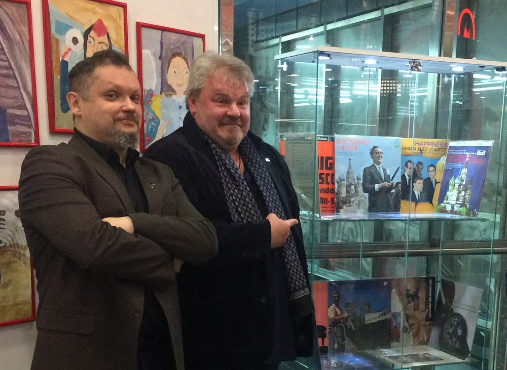 Кирилл Мошков и Николай Богайчук в Центре профориентации метро