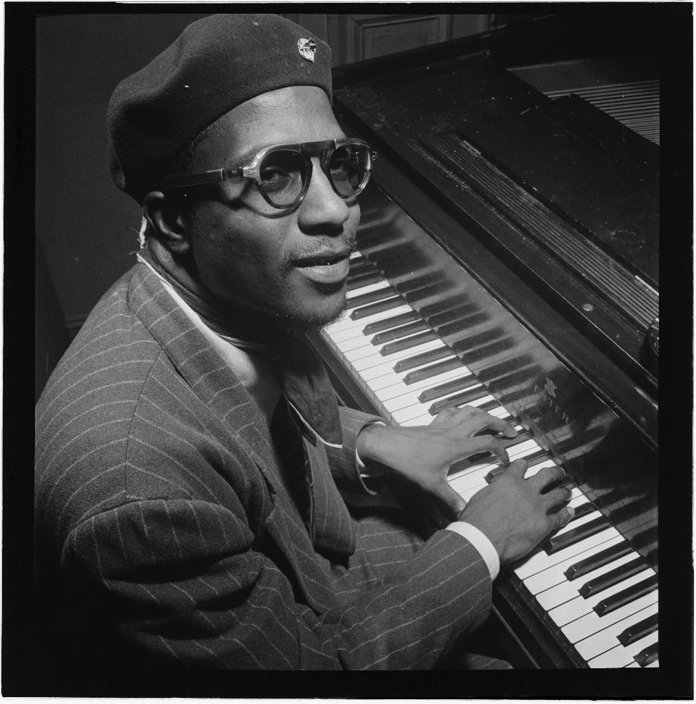 Thelonious Monk, 1947 (photo © William Gottlieb)
