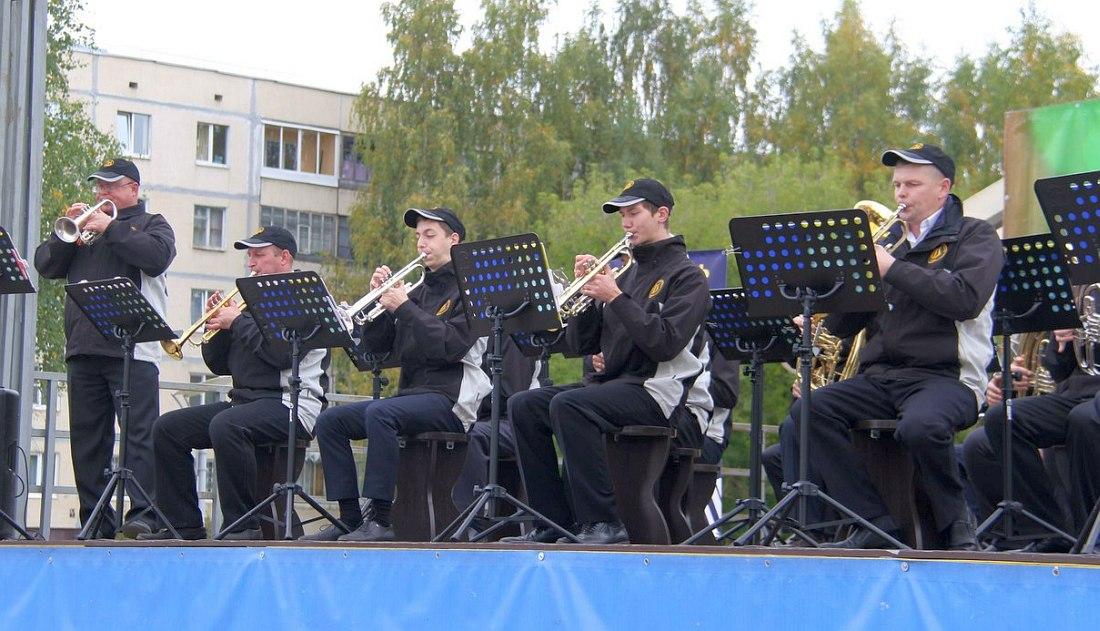 Тихвинский духовой оркестр