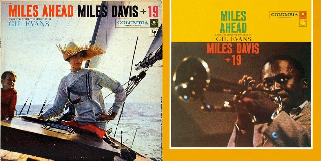 Первая и вторая обложки альбома Майлза Дэйвиса