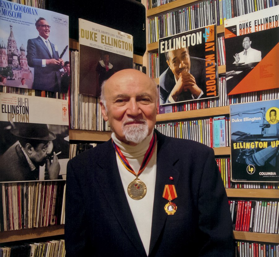 George Avakian (photo © Ian P. Clifford)