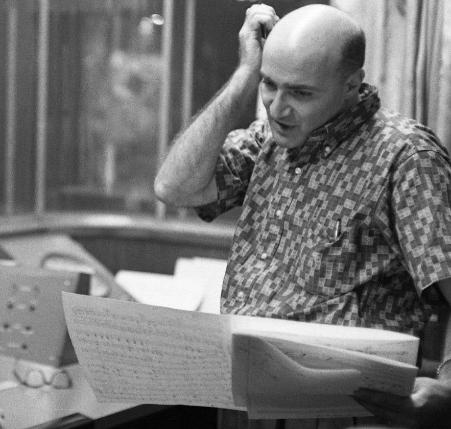 Джордж Авакян в студии, 1960-е гг.