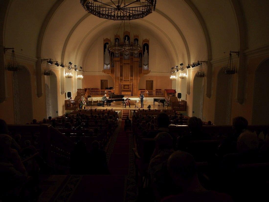 Концерт в Камерном зале Поморской филармонии