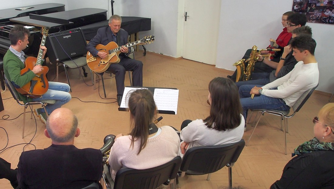 Мастер-класс Алексея Кузнецова в Нарвской музыкальной школе