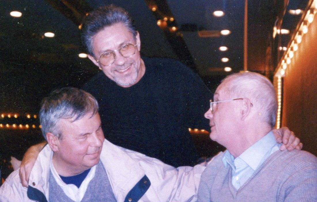 1998, Нью-Йорк: Игорь Высоцкий, Лев Забежинский, Вадим Сакун