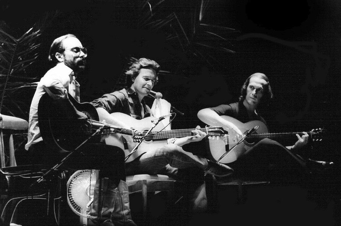 Al DiMeola, John McLaughlin, Paco de Lucia, 1983