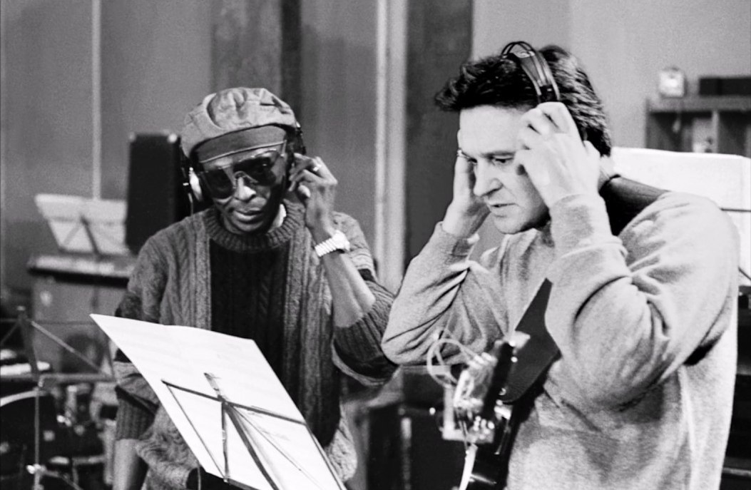 Miles Davis, John McLauglin, 1969 (photo © Jan Persson)