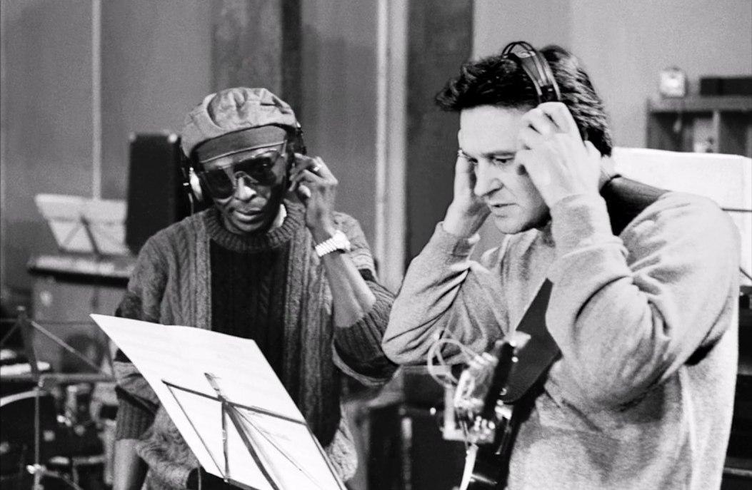 Miles Davis, John McLauglin, 1969 (photo © Jan Persson)