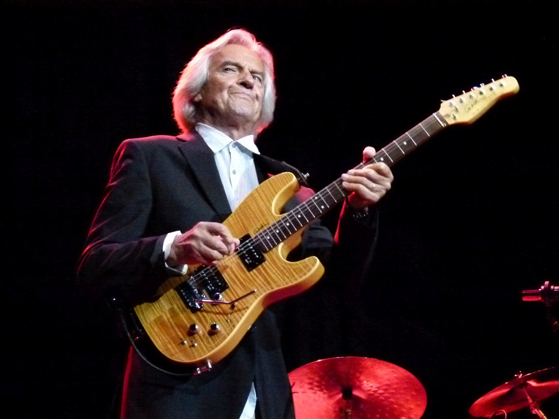 John McLaughlin (photo © Cyril Moshkow, 2011)