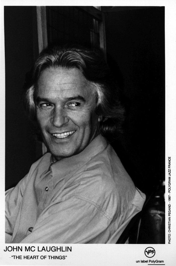 Промо-фото Джона Маклафлина, 1997