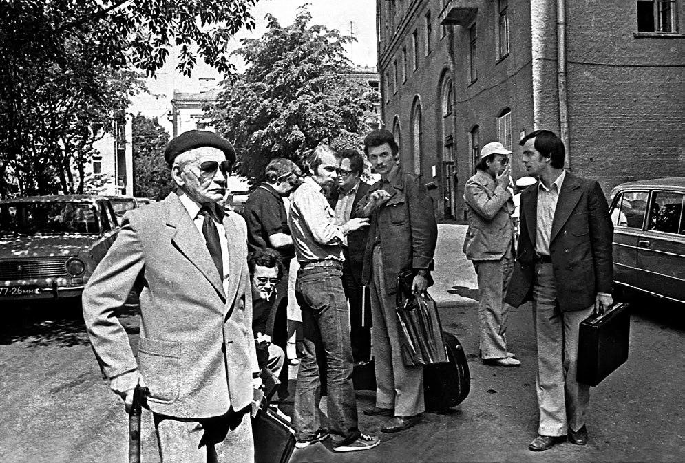 Александр Варламов и группа московских джазменов
