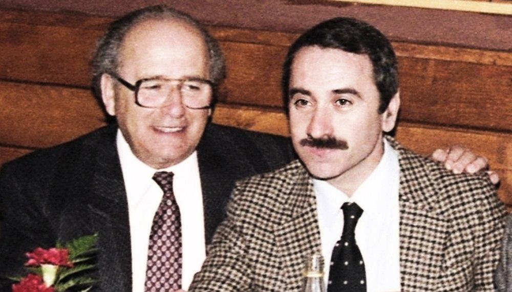 Иосиф Вайнштейн и Геннадий Гольштейн. Нью-Йорк, 1989 (фото © Игорь Высоцкий)