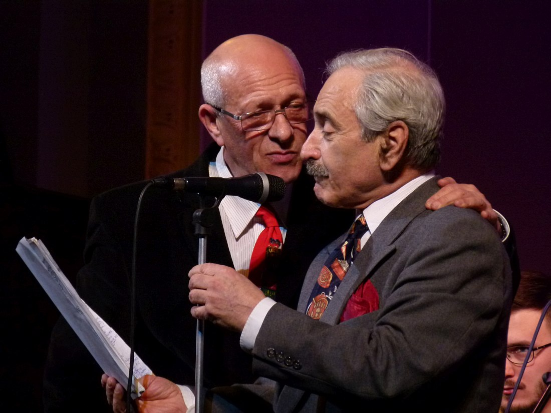 Давид Голощёкин и Геннадий Гольштейн (фото © Кирилл Мошков, «Джаз.Ру», 2013)