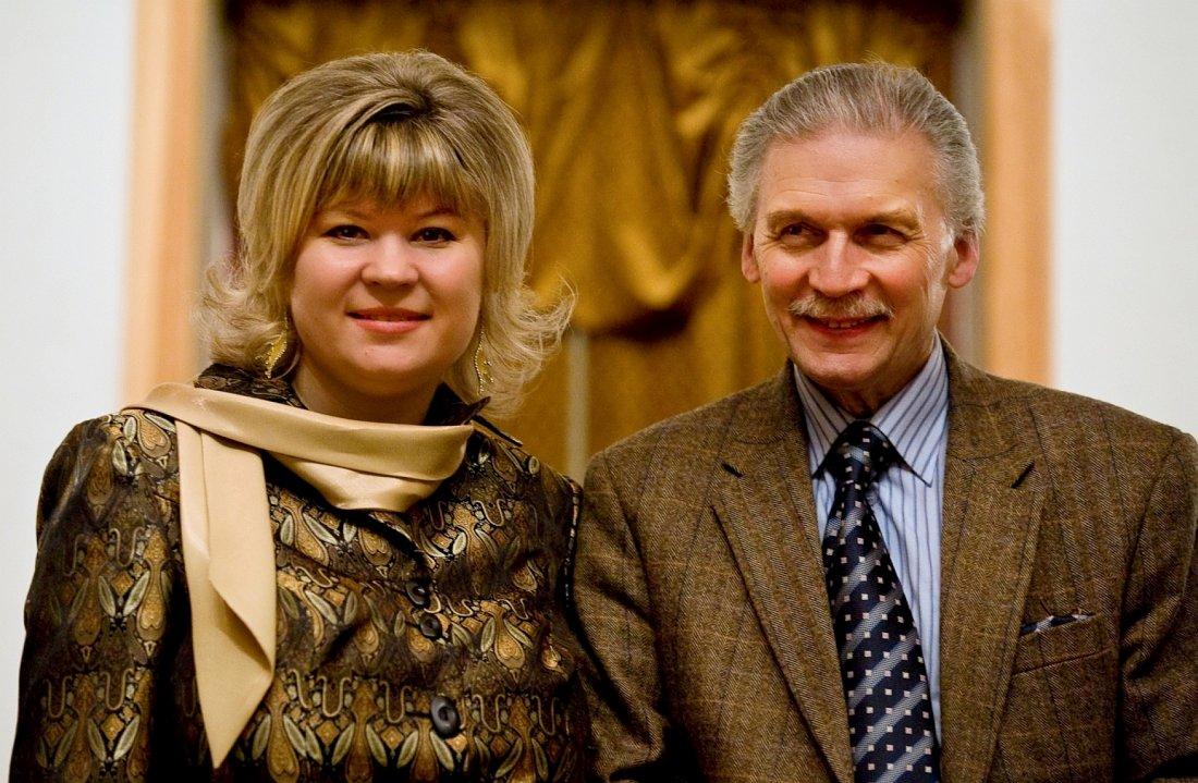 Елена Трофимова и Алексей Кузнецов. Рязань, филармония, 2008 г. Фото © Людмила Васильева