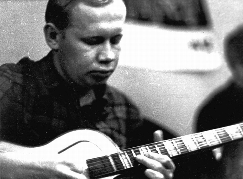 Николай Громин на фестивале «Джаз-62». Москва, 1962 г. Фото © Владимир Садковкин